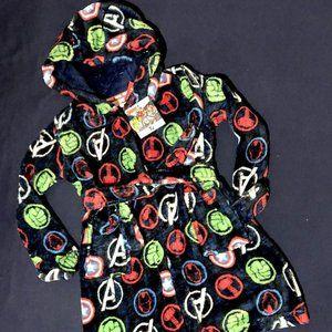 Brand new Marvel Avengers Hooded Dressing Gown